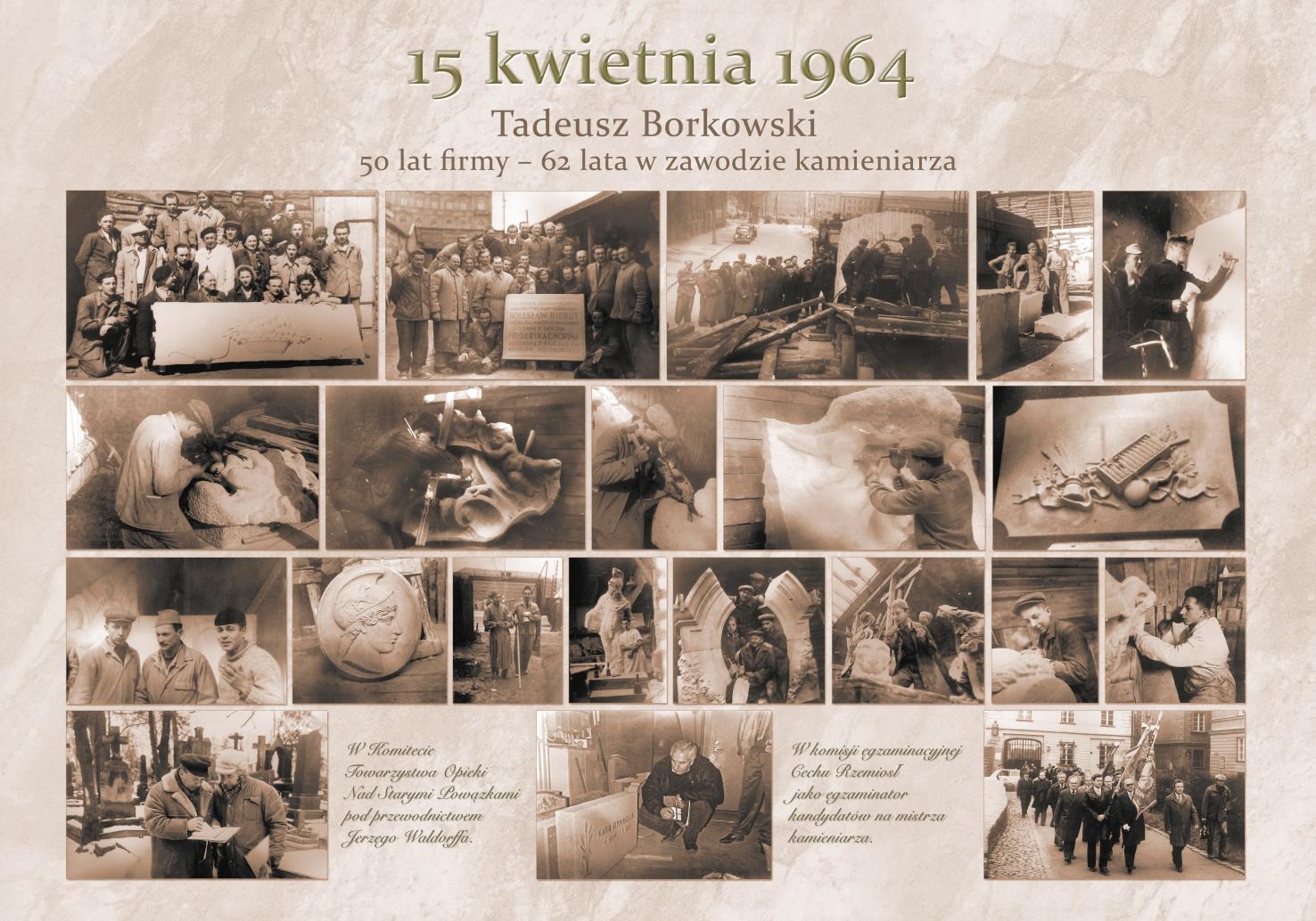 50 lat firmy Kamieniarstwo Borkowski